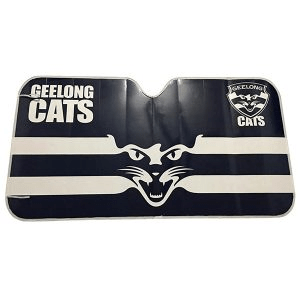 Footy Plus More AUTOMOTIVE Geelong Cats Sun Shade