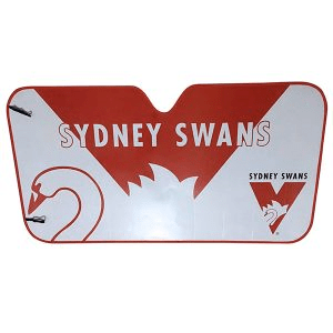 Footy Plus More AUTOMOTIVE Sydney Swans Sun Shade
