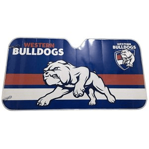 Footy Plus More AUTOMOTIVE Western Bulldogs Sun Shade