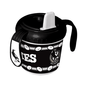 Footy Plus More BABY Collingwood Magpies Sipper Cup