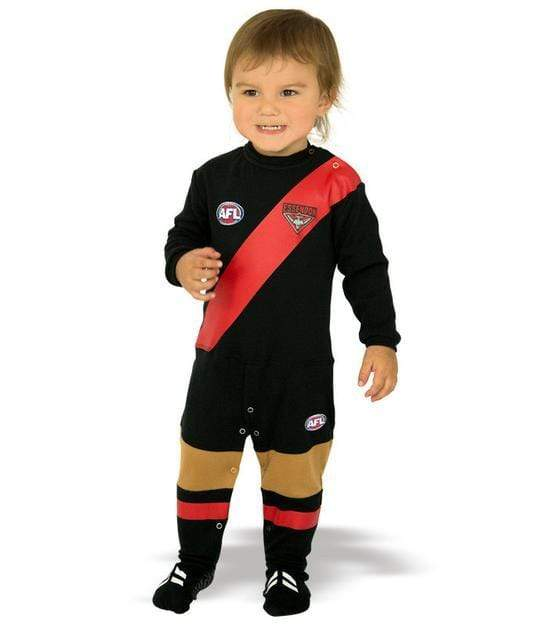 Footy Plus More BABY Essendon Bombers Footysuit