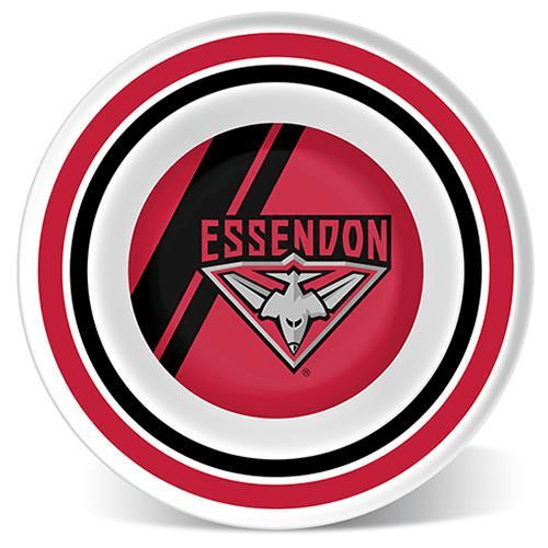 Footy Plus More BABY Essendon bombers Melamine Bowl with lip