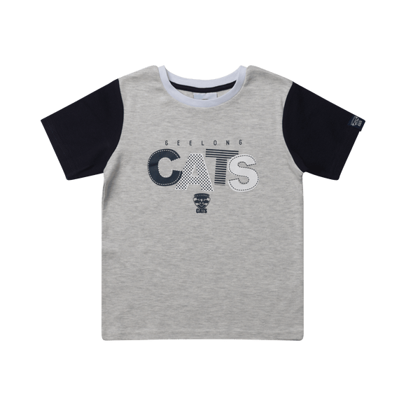 Footy Plus More BABY Geelong Cats Toddler Tee 2019