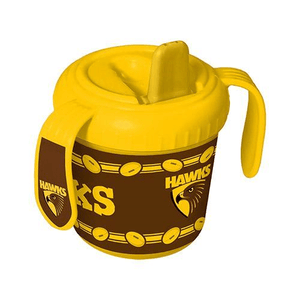 Footy Plus More BABY Hawthorn Hawks Sipper Cup