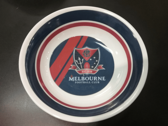 Footy Plus More BABY Melbourne Demons Melamine Bowl