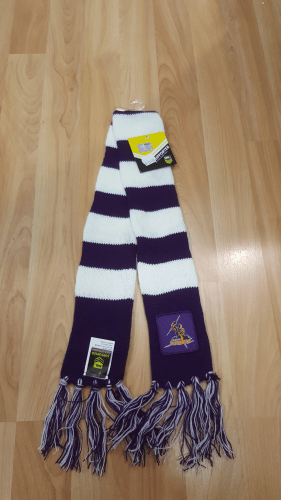 Footy Plus More BABY Melbourne Storm Infant Scarf