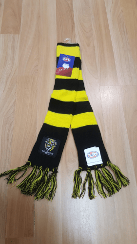 Footy Plus More BABY Richmond Tigers Infant Scarf