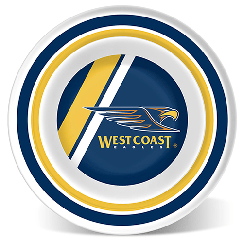 Footy Plus More BABY West Coast Eagles Melamine Bowl