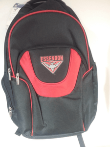 Footy Plus More backpack Essendon Bombers Fusion Backpack