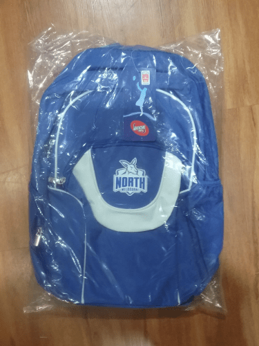 Footy Plus More backpack North Melbourne Kangaroos Fusion Backpack