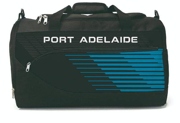 Footy Plus More bag Port Adelaide Power Bolt Sports Bag