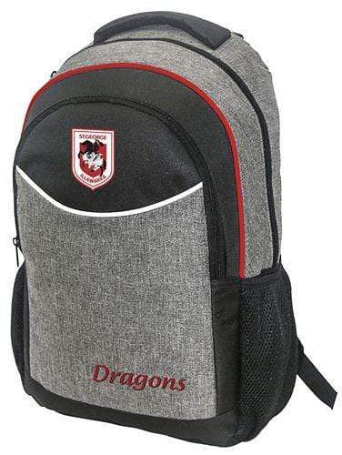 Footy Plus More bag St George Illawarra Dragons Stealth Backpack
