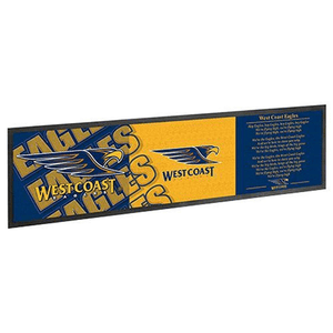 Footy Plus More bar runner West Coast Eagles Bar Runner