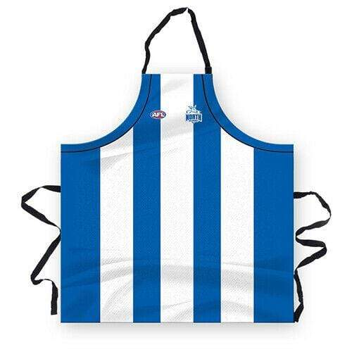 Footy Plus More BBQ North Melbourne Kangaroos Mens Apron
