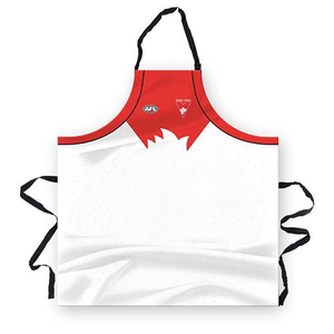 Footy Plus More BBQ Sydney Swans Mens Apron