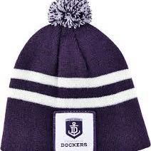 Footy Plus More BEANIE Fremantle Dockers Infant Beanie
