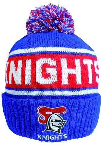 Footy Plus More BEANIE NEWCASTLE KNIGHTS STRIKER BEANIE