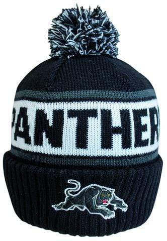 Footy Plus More BEANIE PENRITH PANTHERS STRIKER BEANIE