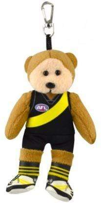 Footy Plus More BEANIE Richmond Tigers Beanie Kid Bag Tag