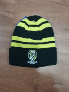 Footy Plus More BEANIE Richmond Tigers Wozza Beanie