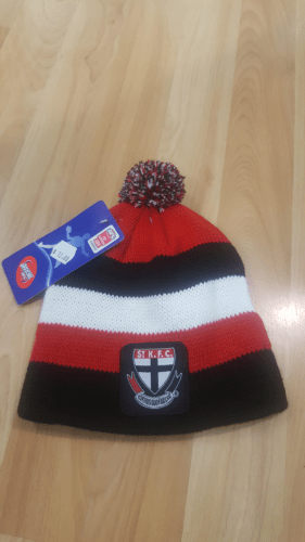 Footy Plus More BEANIE ST Kilda Saints Infant Beanie