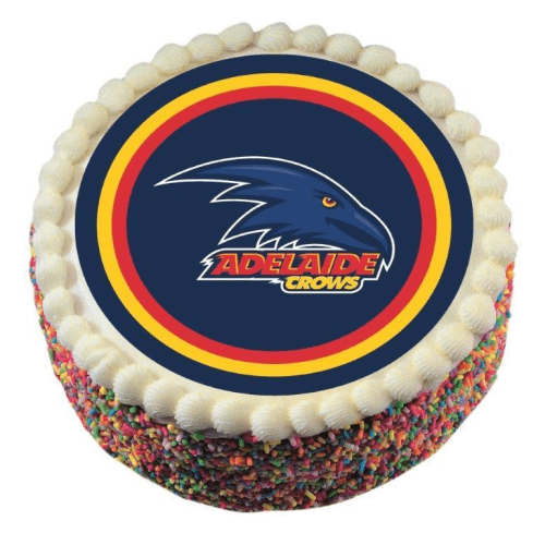 Footy Plus More CAKE DECORATIONS Adelaide Crows Edible Cake Icing Image
