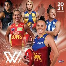 Footy Plus More calendar AFL Womens League 2021 Calendar