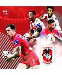 Footy Plus More calendar St George Dragons 2021 Calendar