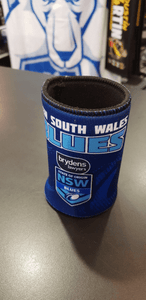 Footy Plus More Can Cooler New South Wales NSW Blues State of origin Can Cooler