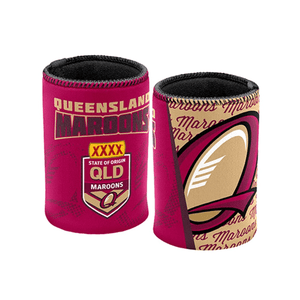 Footy Plus More Can Cooler Queensland Maroons State of origin Can Cooler