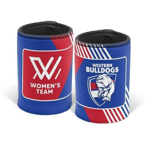 Footy Plus More Can Cooler Western Bulldogs Womens Can Cooler