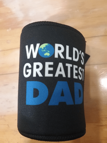 Footy Plus More Can Cooler Worlds Greatest Dad Can Cooler Stubby Holder