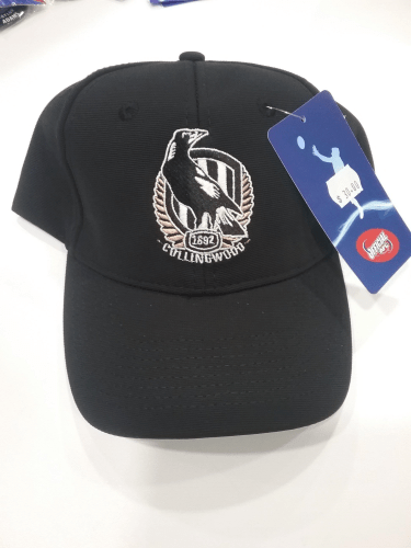 Footy Plus More Caps Collingwood Magpies logo cap