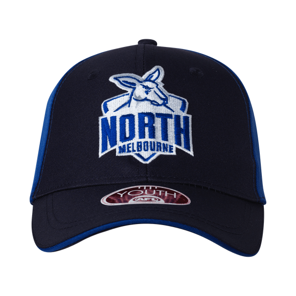 Footy Plus More Caps North Melbourne Kangaroos Youth Club Cap 2019