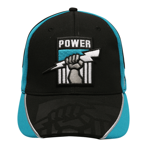 Footy Plus More Caps Port Adelaide Power Adults Premium Cap