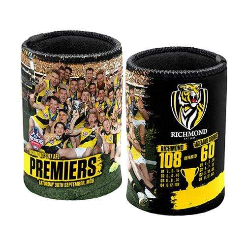 Footy Plus More Caps Richmond Tigers Premiers Can Cooler 2017