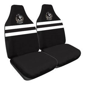 Footy Plus More car accessories Collingwood Magpies Car Seat Covers