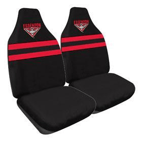 Footy Plus More car accessories Essendon Bombers Car Seat Covers