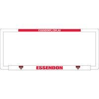 Footy Plus More car accessories Essendon Bombers Number Plate Frame