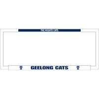 Footy Plus More car accessories Geelong Cats Number Plate Frame