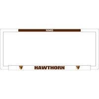 Footy Plus More car accessories Hawthorn Hawks Number Plate Frame