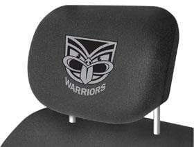 Footy Plus More car accessories New Zealand Warriors Car Headrest Covers Twin Pack