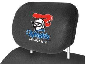 Footy Plus More car accessories Newcastle KnightsCar Headrest Covers Twin Pack