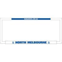 Footy Plus More car accessories North Melbourne Kangaroos Number Plate Frame