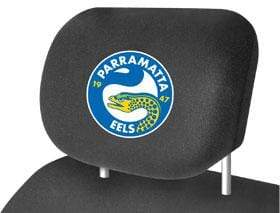 Footy Plus More car accessories Parramatta Eels Car Headrest Covers Twin Pack