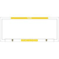 Footy Plus More car accessories Richmond Tigers Number Plate Frame