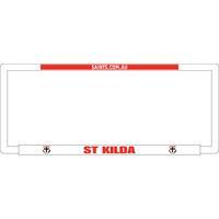 Footy Plus More car accessories St Kilda Saints Number Plate Frame