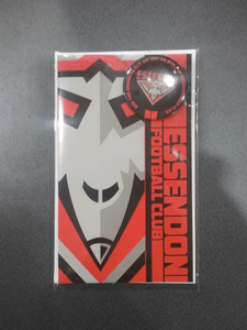 Footy Plus More cards and wrap Essendon Bombers Badge Greeting Card