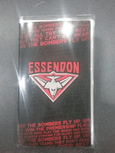 Footy Plus More cards and wrap Essendon Bombers Musical Greeting Card