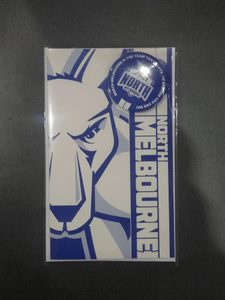 Footy Plus More cards and wrap North Melbourne Kangaroos Badge Greeting Card